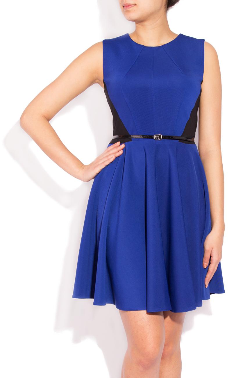 Sleeveless blue dress Laura Ciobanu image 1