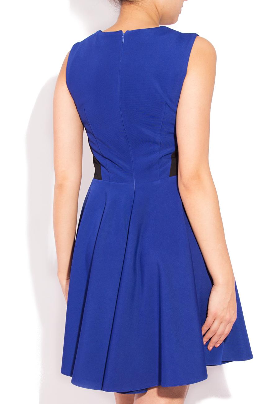 Sleeveless blue dress Laura Ciobanu image 2