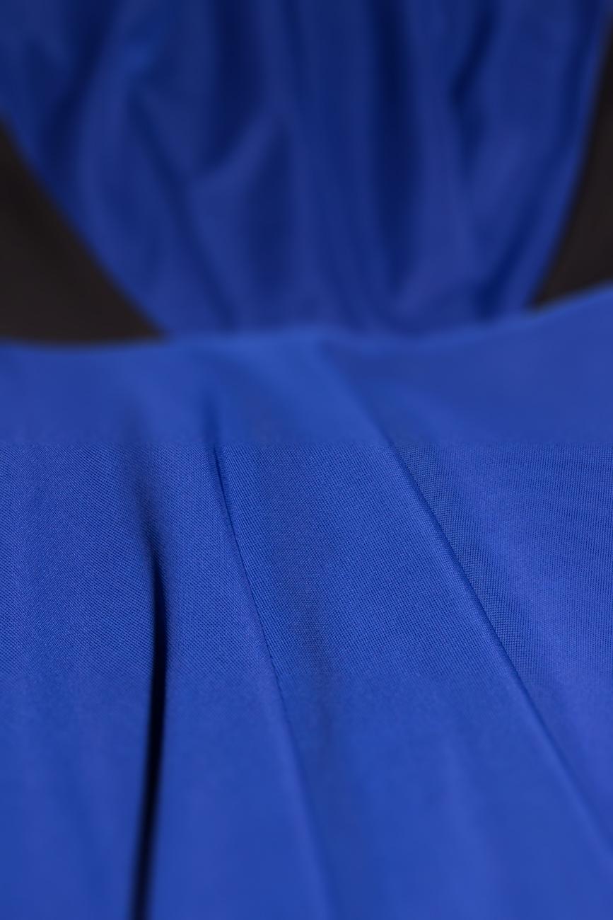 Sleeveless blue dress Laura Ciobanu image 3