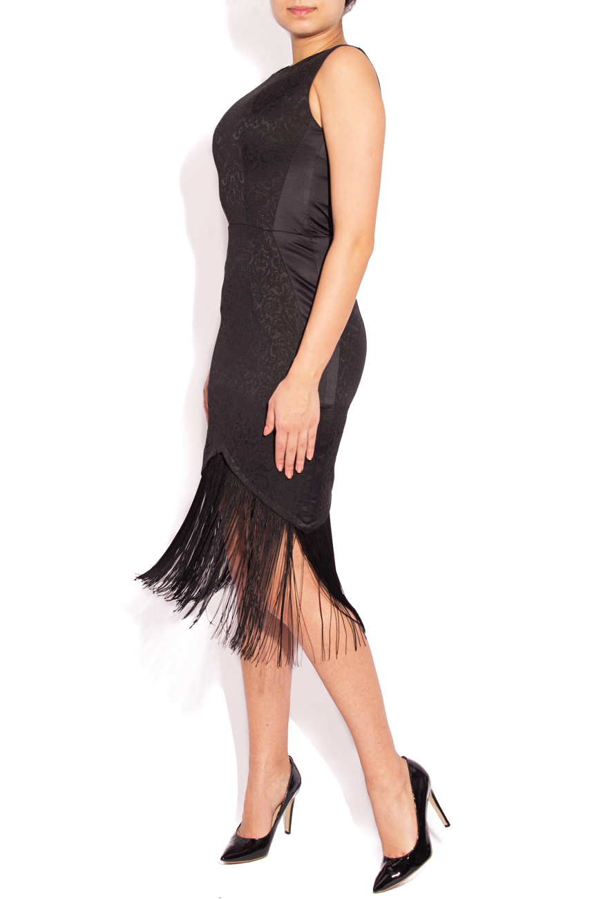 Bodyline dress with fringes Laura Ciobanu image 0