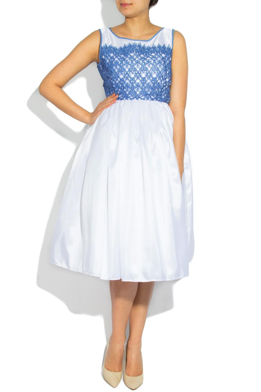 Blue lace dress Cristina Staicu image 0