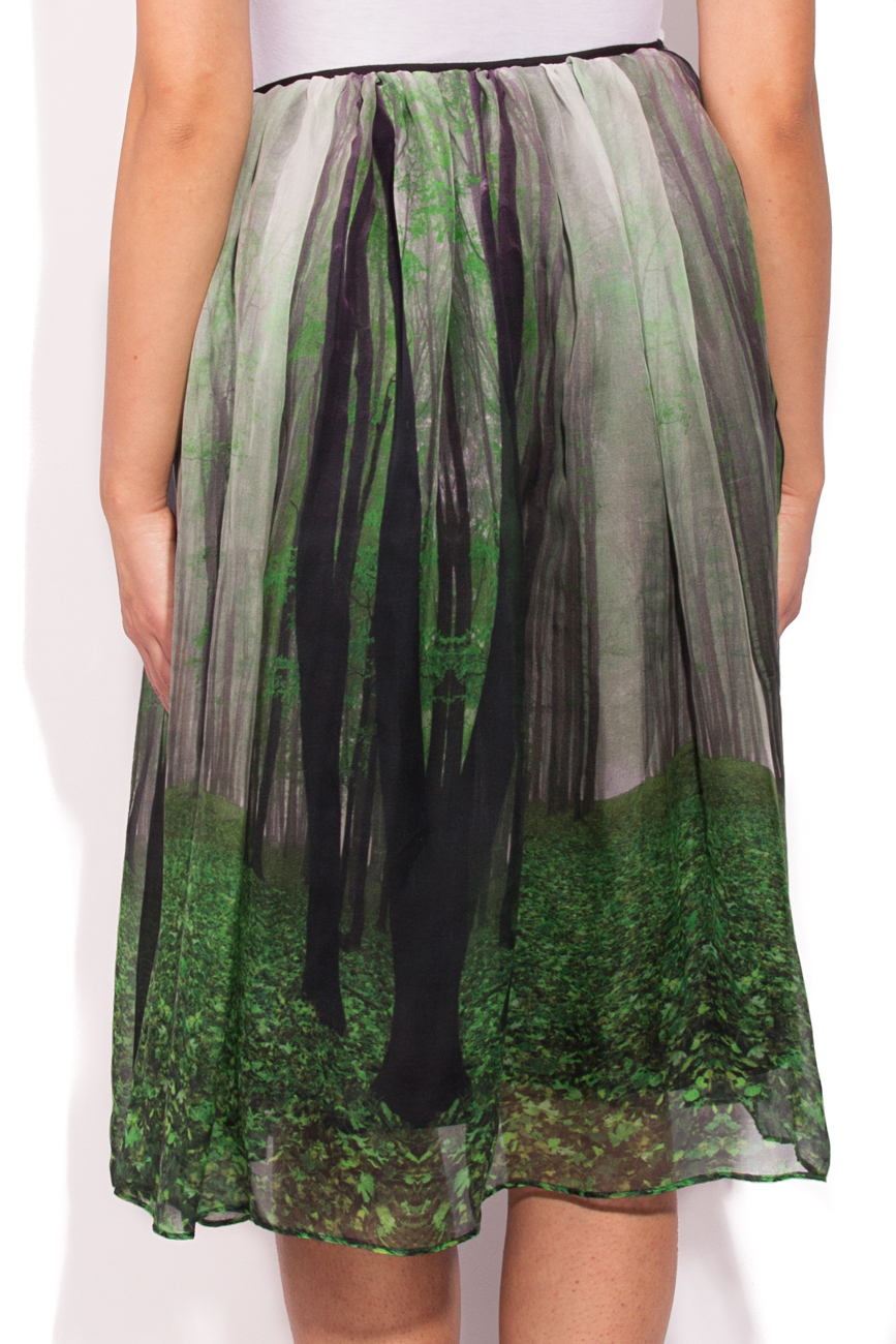 Skirt with forest print Cristina Staicu image 2