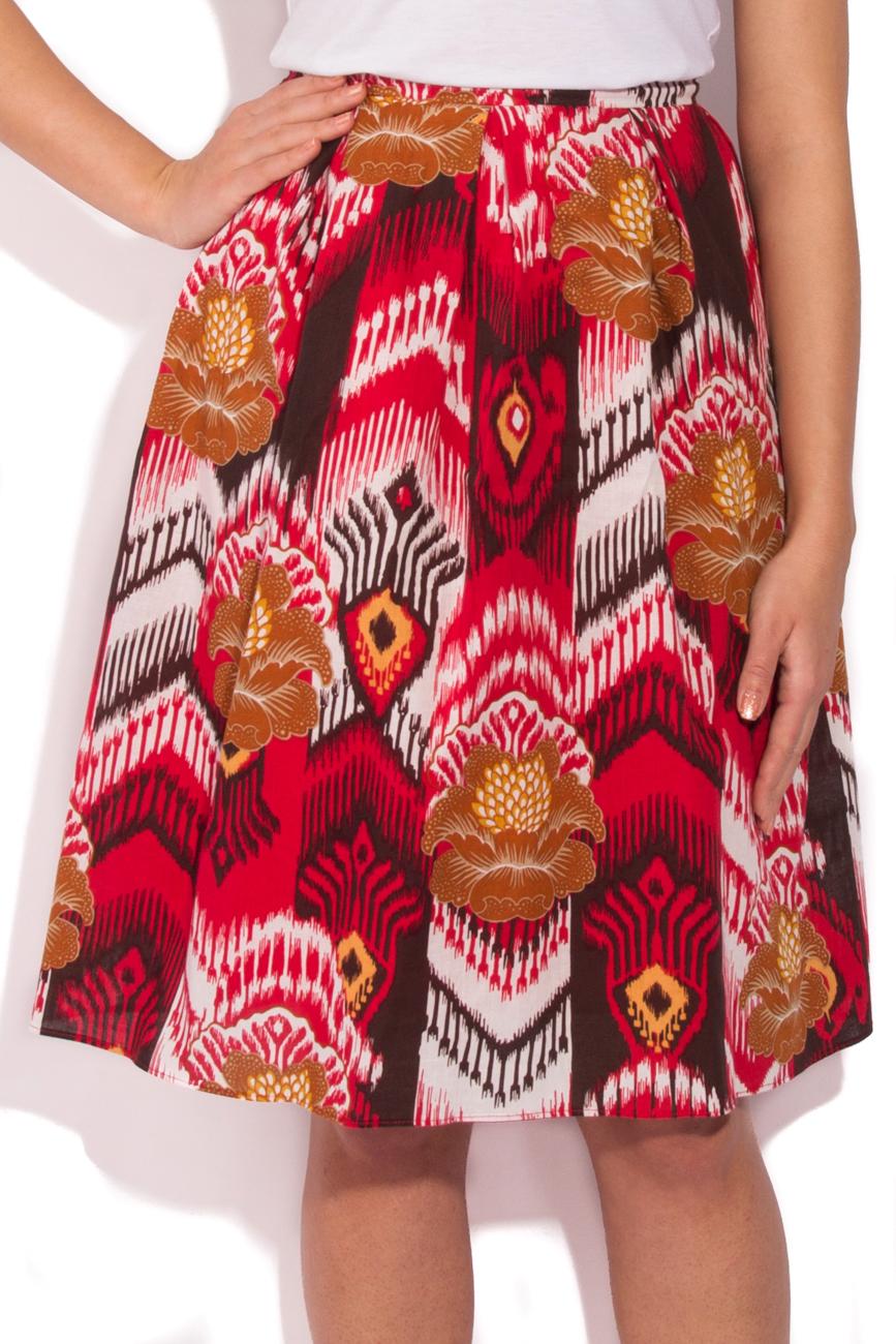 Jupe motifs aztèques Cristina Staicu image 1
