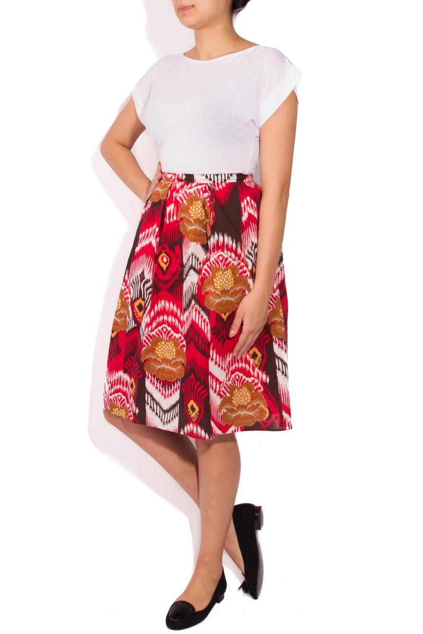 Jupe motifs aztèques Cristina Staicu image 0