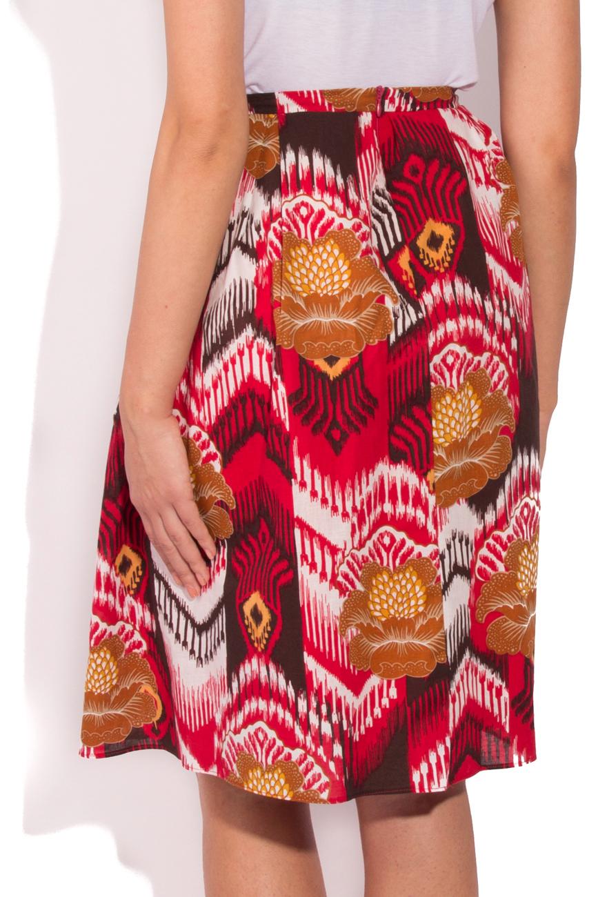 Jupe motifs aztèques Cristina Staicu image 2
