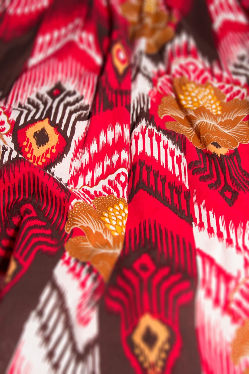 Jupe motifs aztèques Cristina Staicu image 3