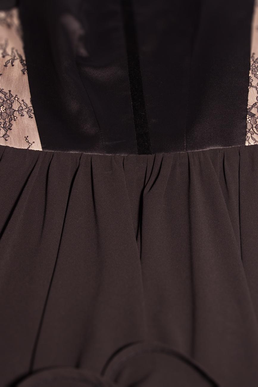 Robe en voile avec franges Laura Ciobanu image 3