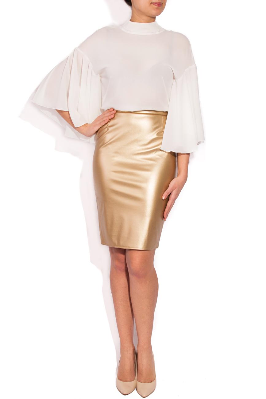 Golden skirt T'esha by Diana Tatucu image 0