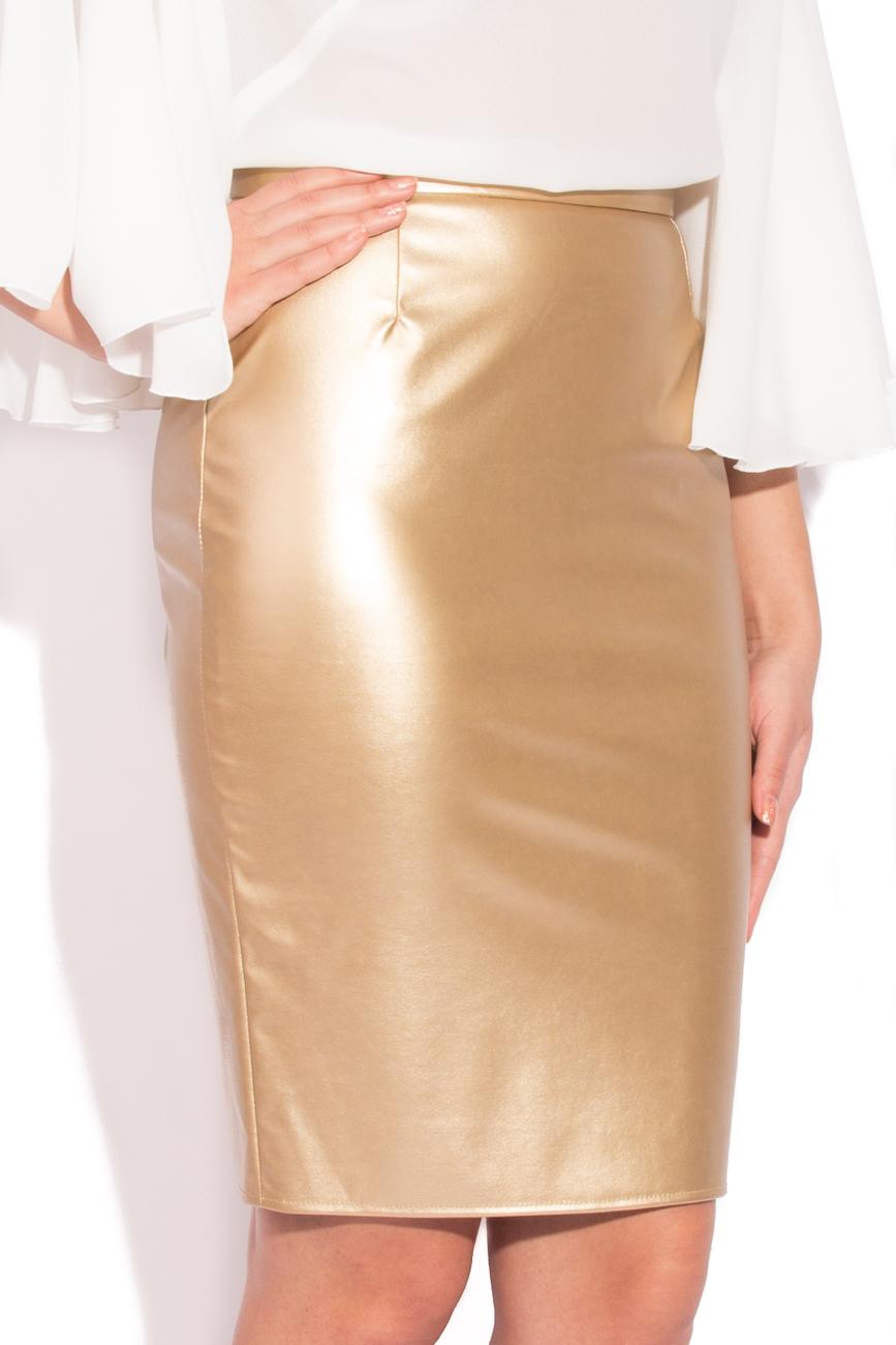 Golden skirt T'esha by Diana Tatucu image 1