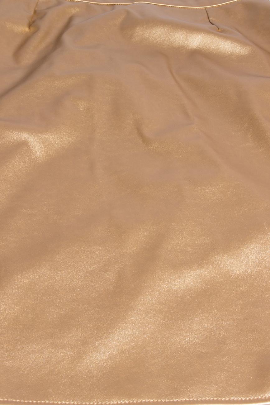 Golden skirt T'esha by Diana Tatucu image 3