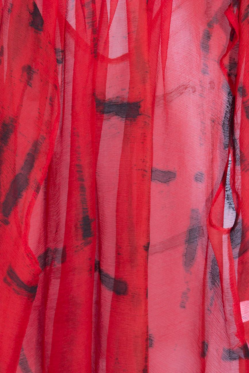 Plaid silk blouse B.A.D. Style by Adriana Barar image 3