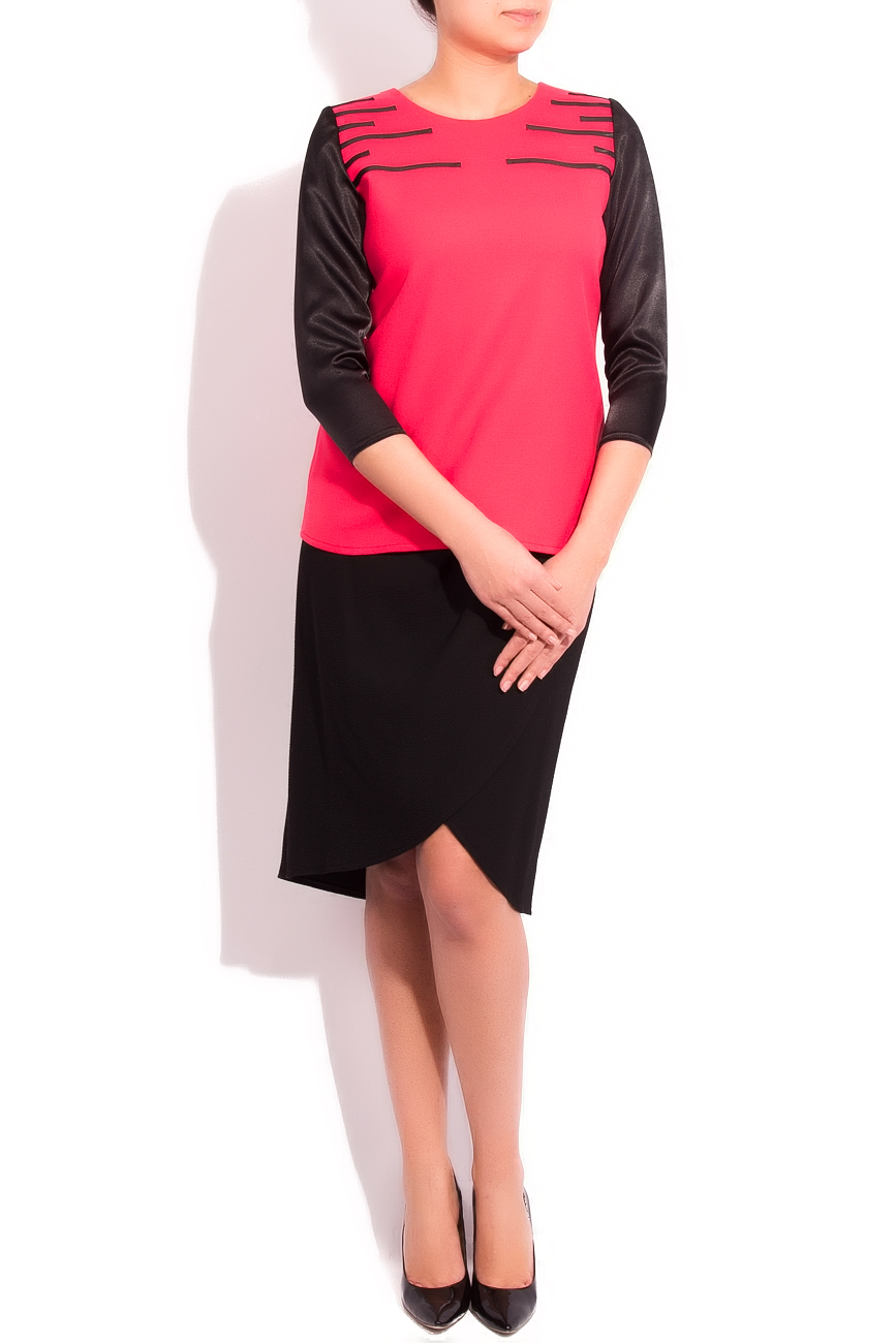 FEELING THE BLACK blouse Arina Varga image 0