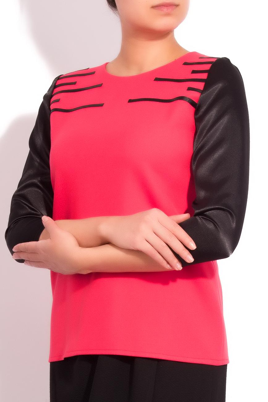 FEELING THE BLACK blouse Arina Varga image 1