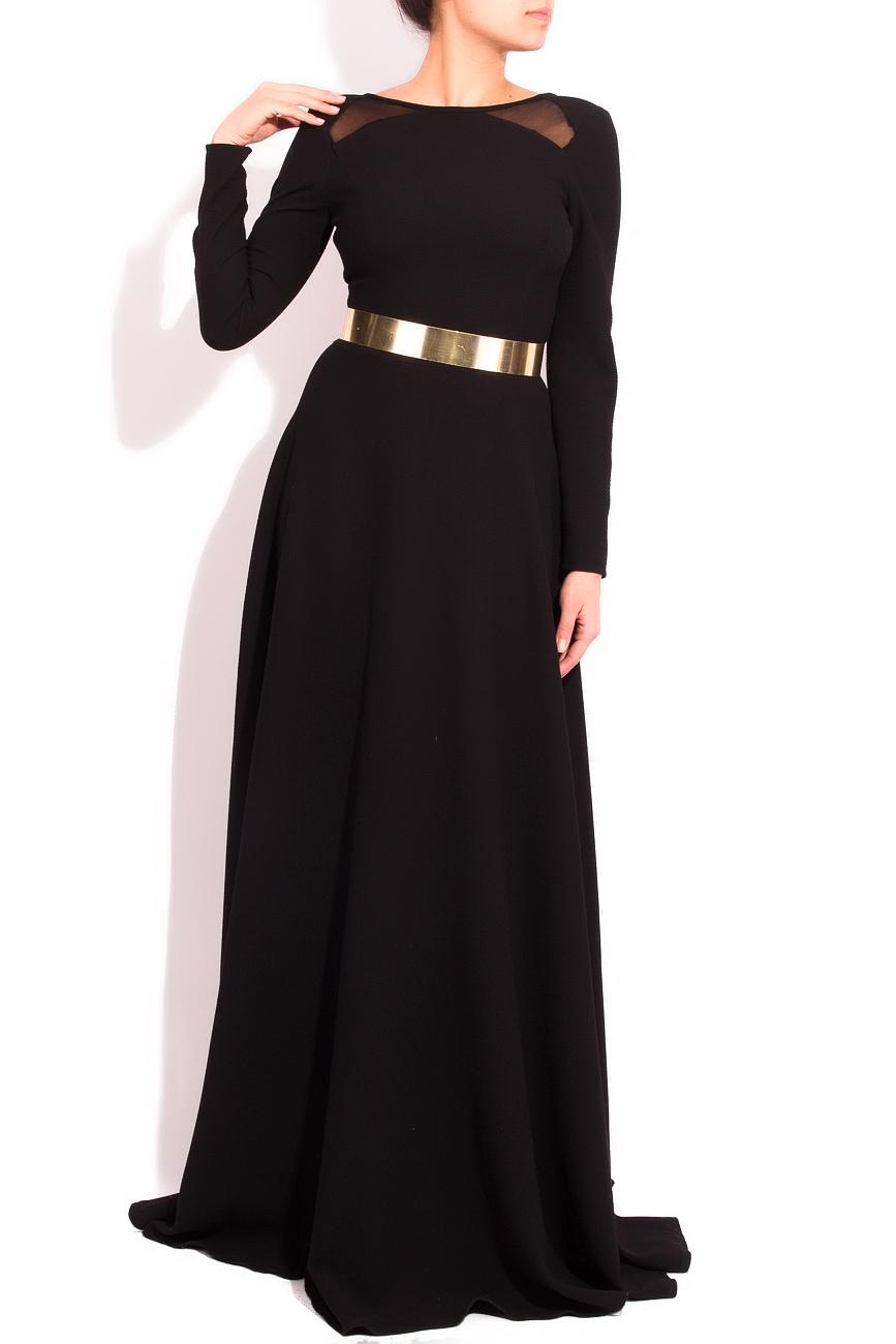Backless black dress Arina Varga image 0