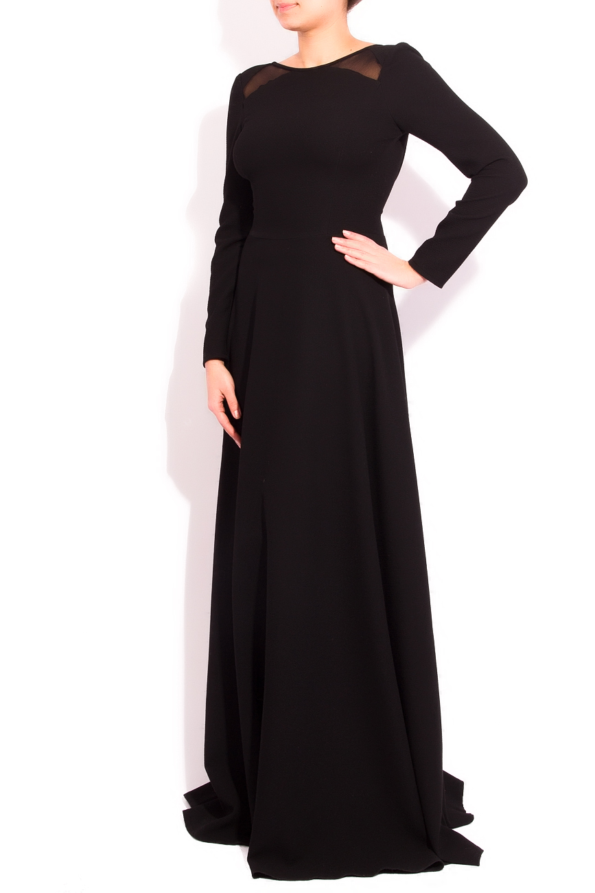 Backless black dress Arina Varga image 1