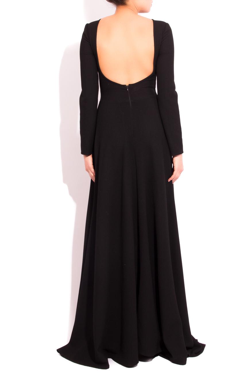 Backless black dress Arina Varga image 2