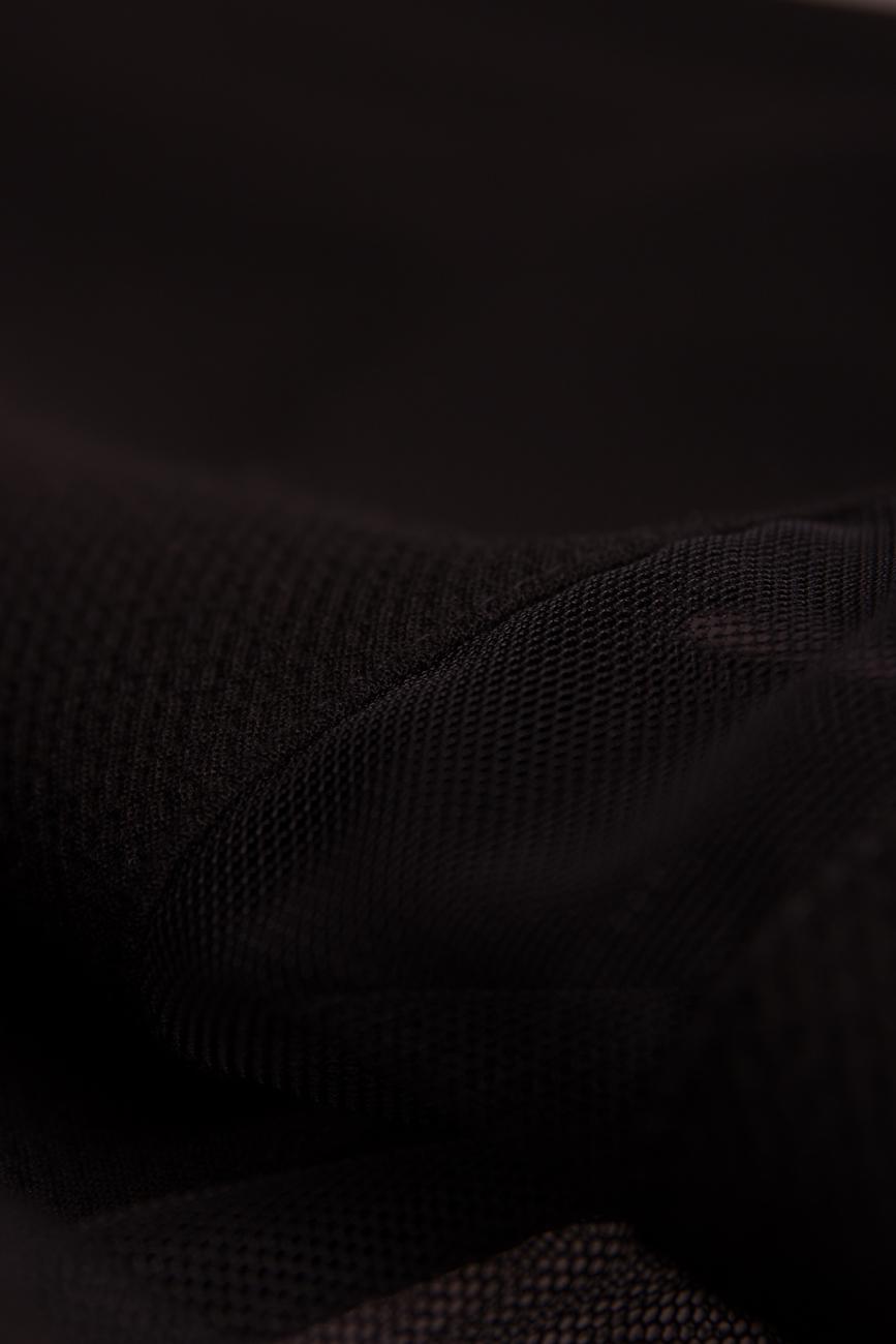 Backless black dress Arina Varga image 3