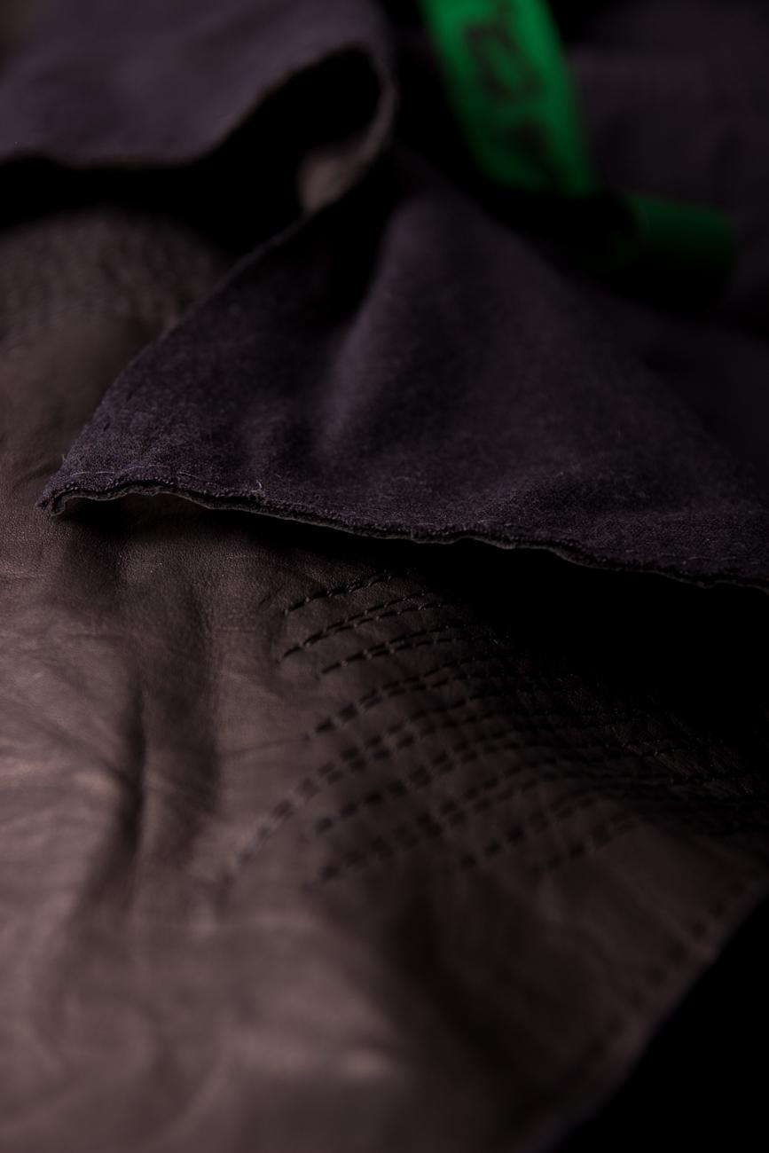 Asymmetrical Leather Jacket Edita Lupea image 3
