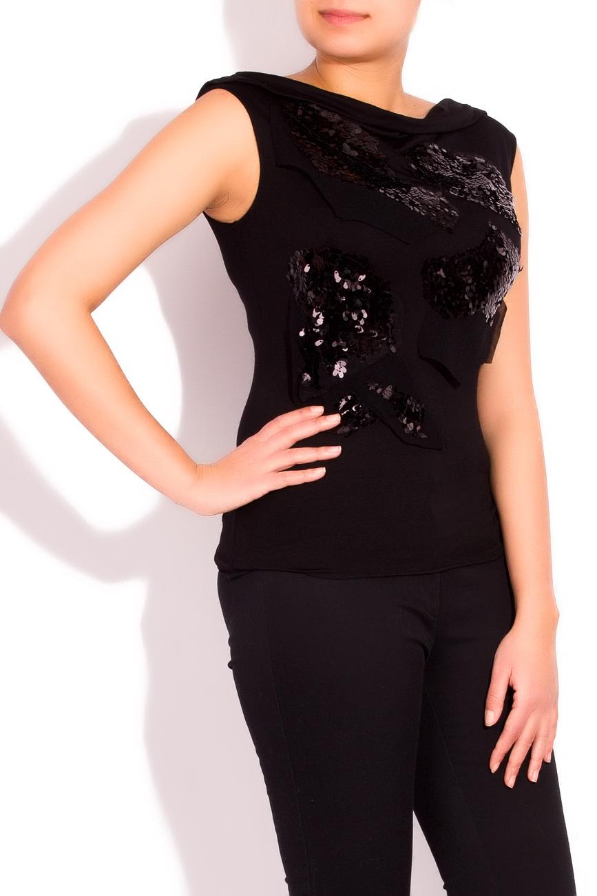 Sequined blouse Edita Lupea image 1