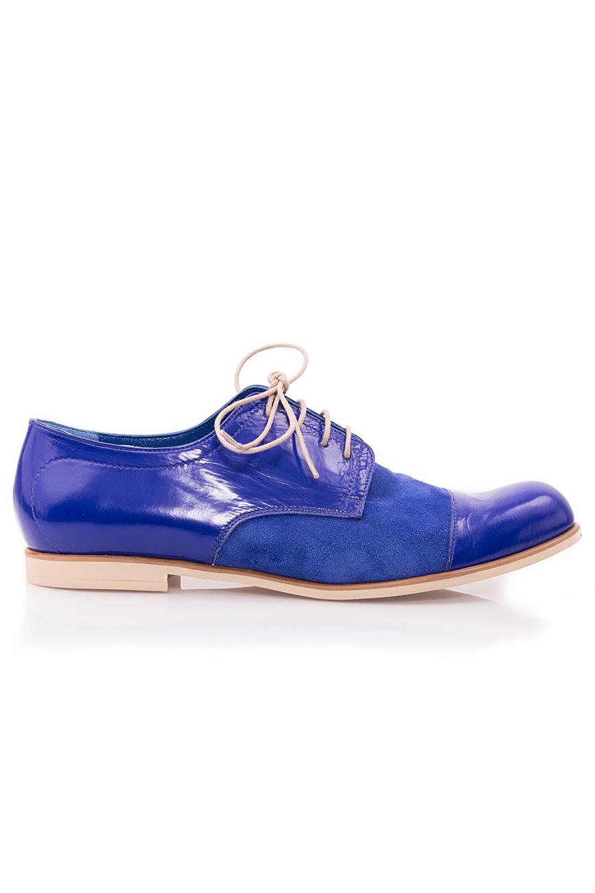 Oxford blue shoes Mono Shoes by Dumitru Mihaica image 0