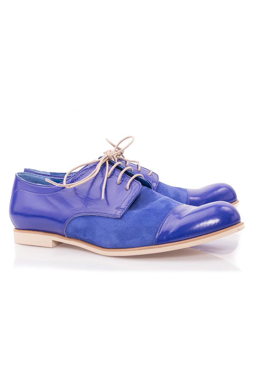 Oxford blue shoes Mono Shoes by Dumitru Mihaica image 1
