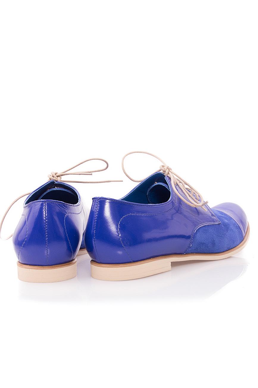 Oxford blue shoes Mono Shoes by Dumitru Mihaica image 2