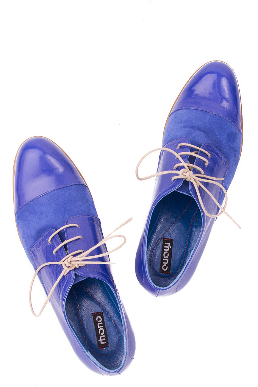 Oxford blue shoes Mono Shoes by Dumitru Mihaica image 3