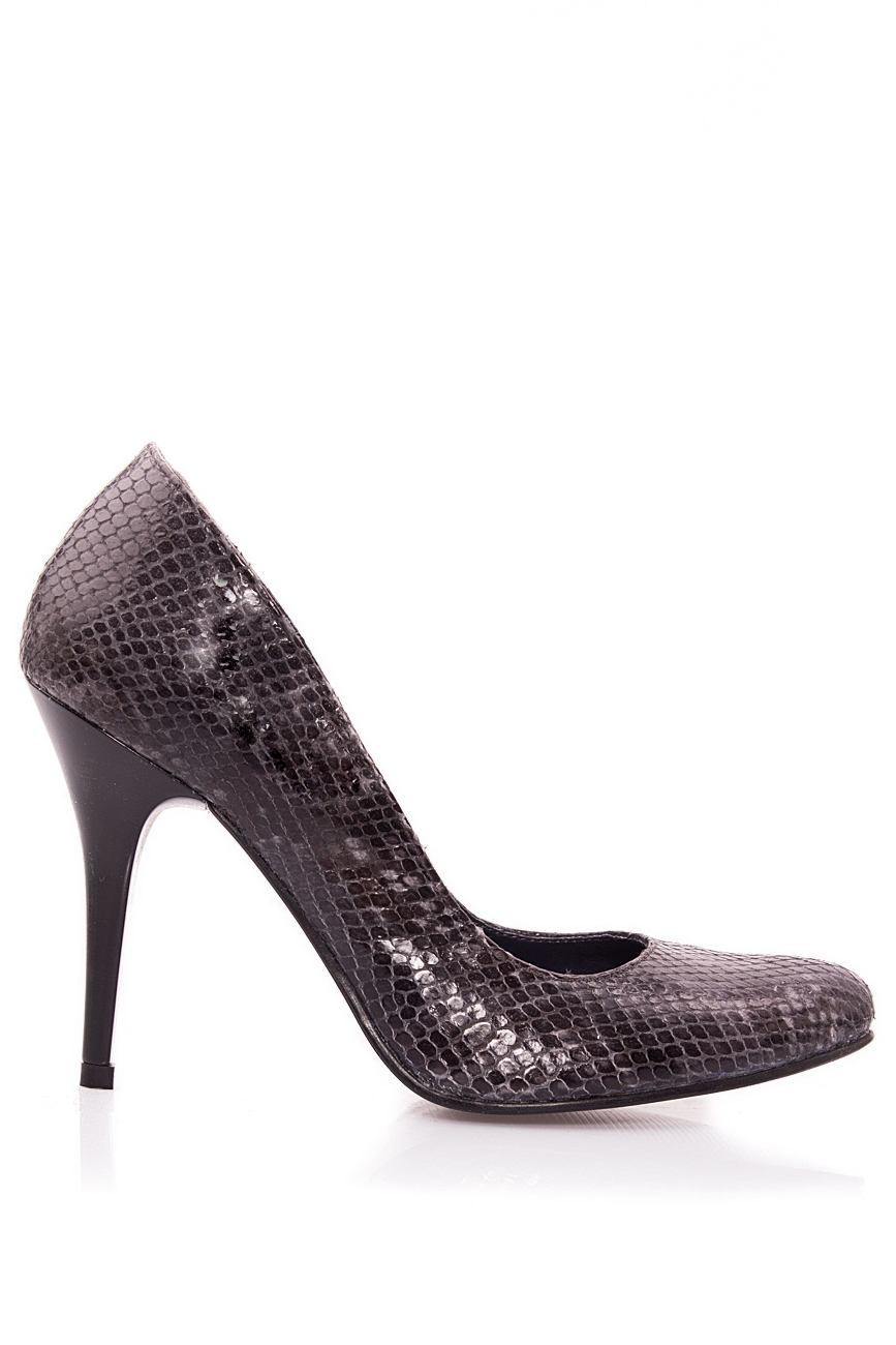 Snake leather shoes Mono Shoes by Dumitru Mihaica image 0