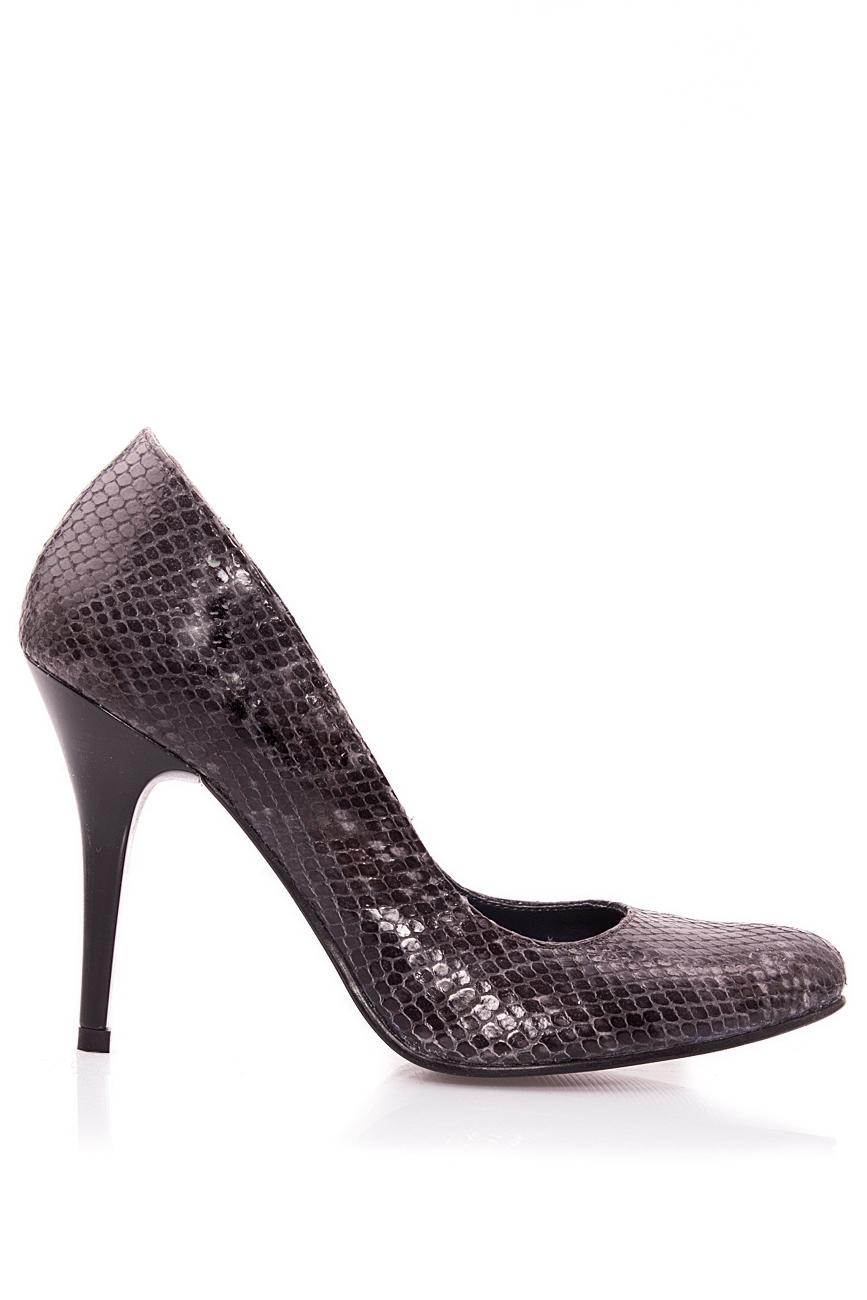 Escarpins effet peau de serpent Mono Shoes by Dumitru Mihaica image 0