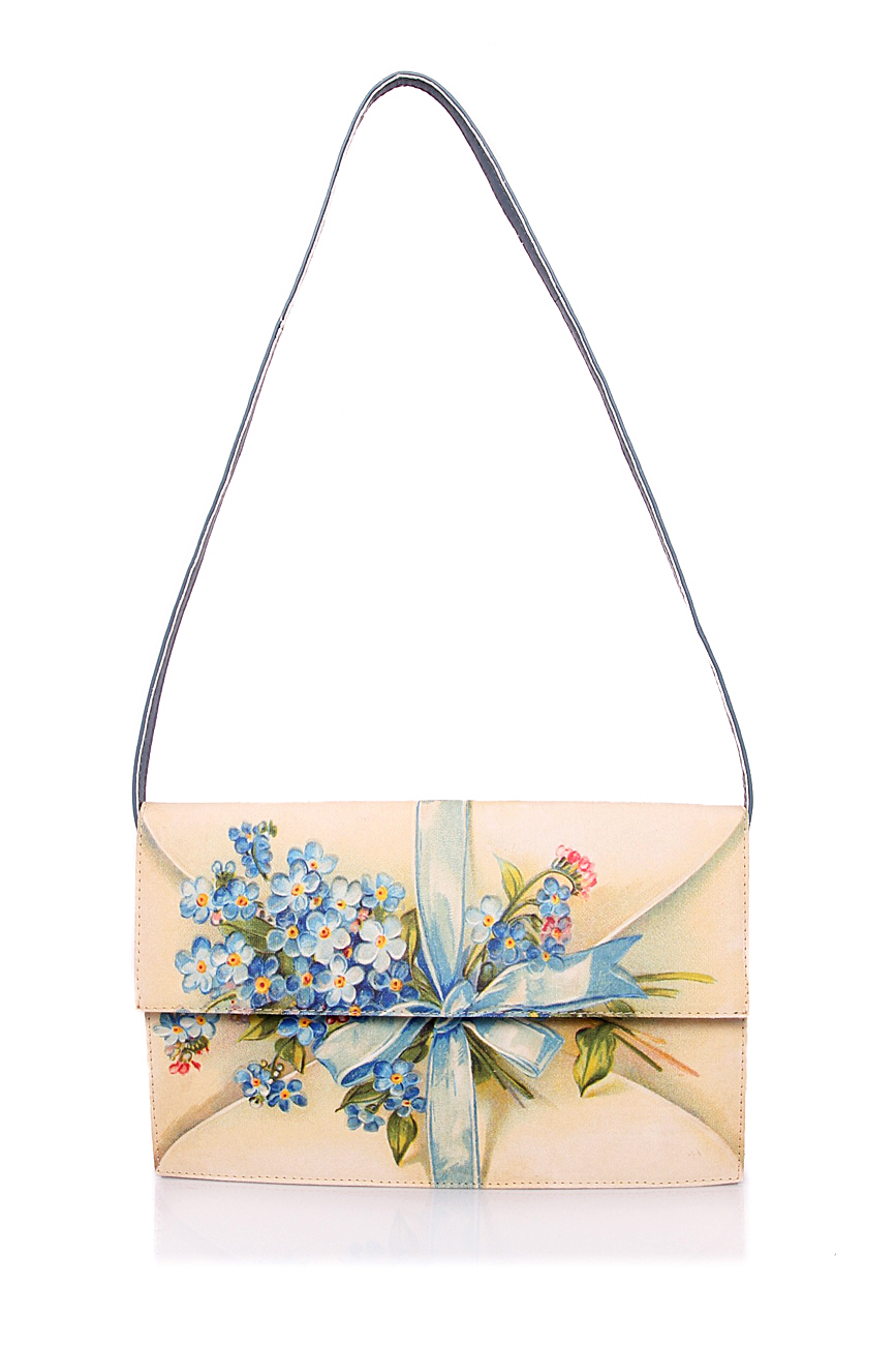 Bag with blue flowers Oana Lazar (3127 Bags) image 1