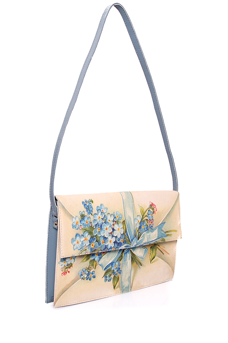 Bag with blue flowers Oana Lazar (3127 Bags) image 0