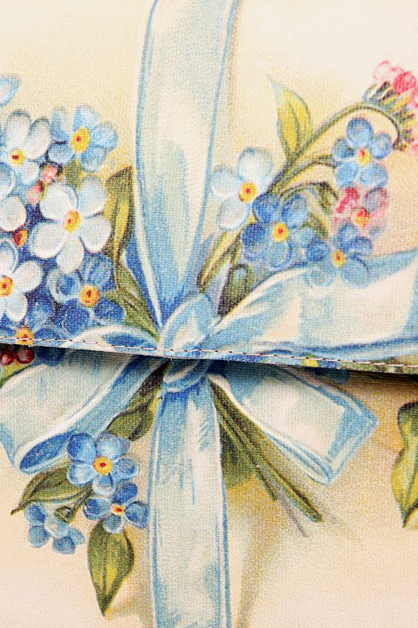 Bag with blue flowers Oana Lazar (3127 Bags) image 4