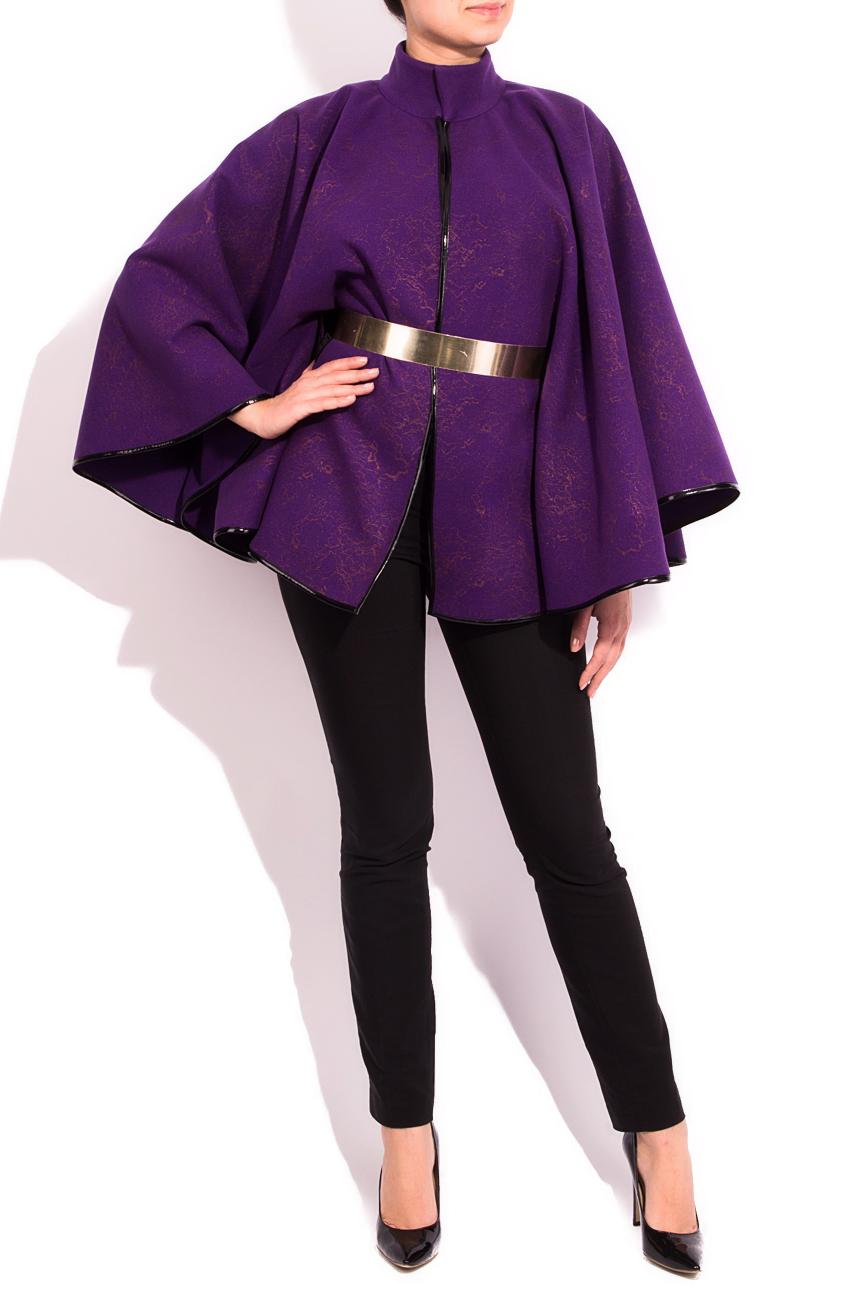 Purple cloth cape Alexandra Calafeteanu image 0
