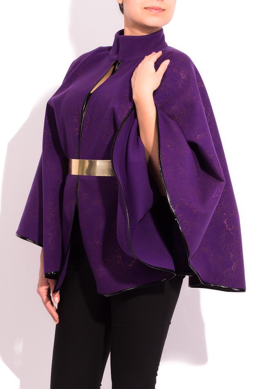 Purple cloth cape Alexandra Calafeteanu image 1