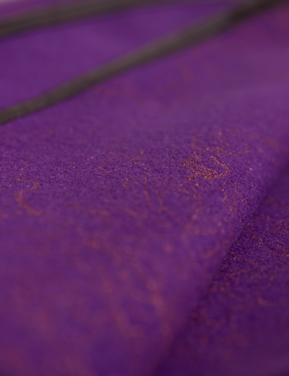 Purple cloth cape Alexandra Calafeteanu image 3