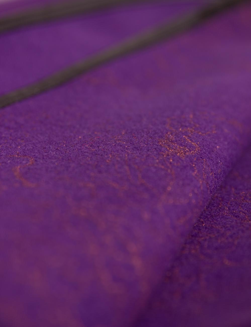Purple cloth cape Alexandra Calafeteanu image 3
