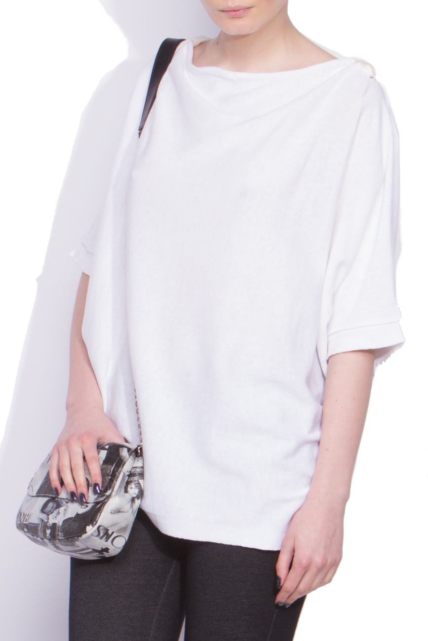 White sweater Dorin Negrau image 1
