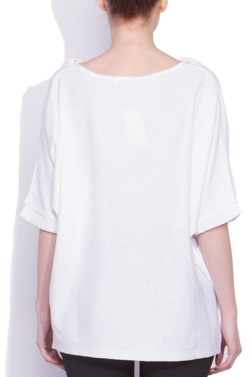 White sweater Dorin Negrau image 2