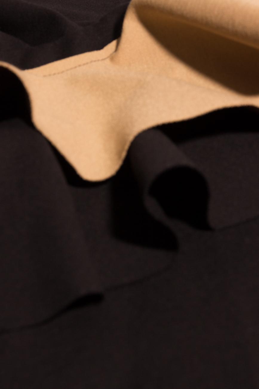 One shoulder dress with ruffles Laura Ciobanu image 3