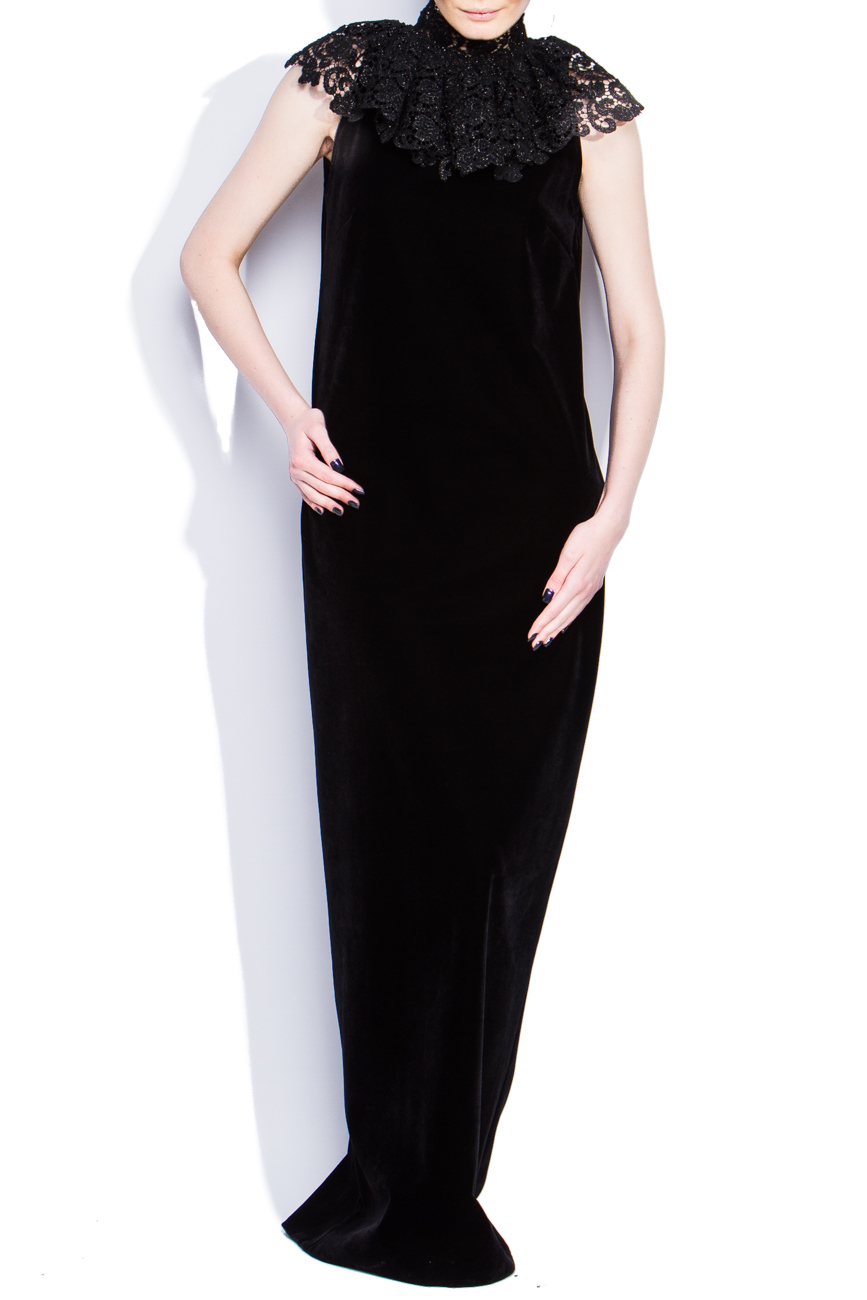Lace collar dress Dorin Negrau image 0