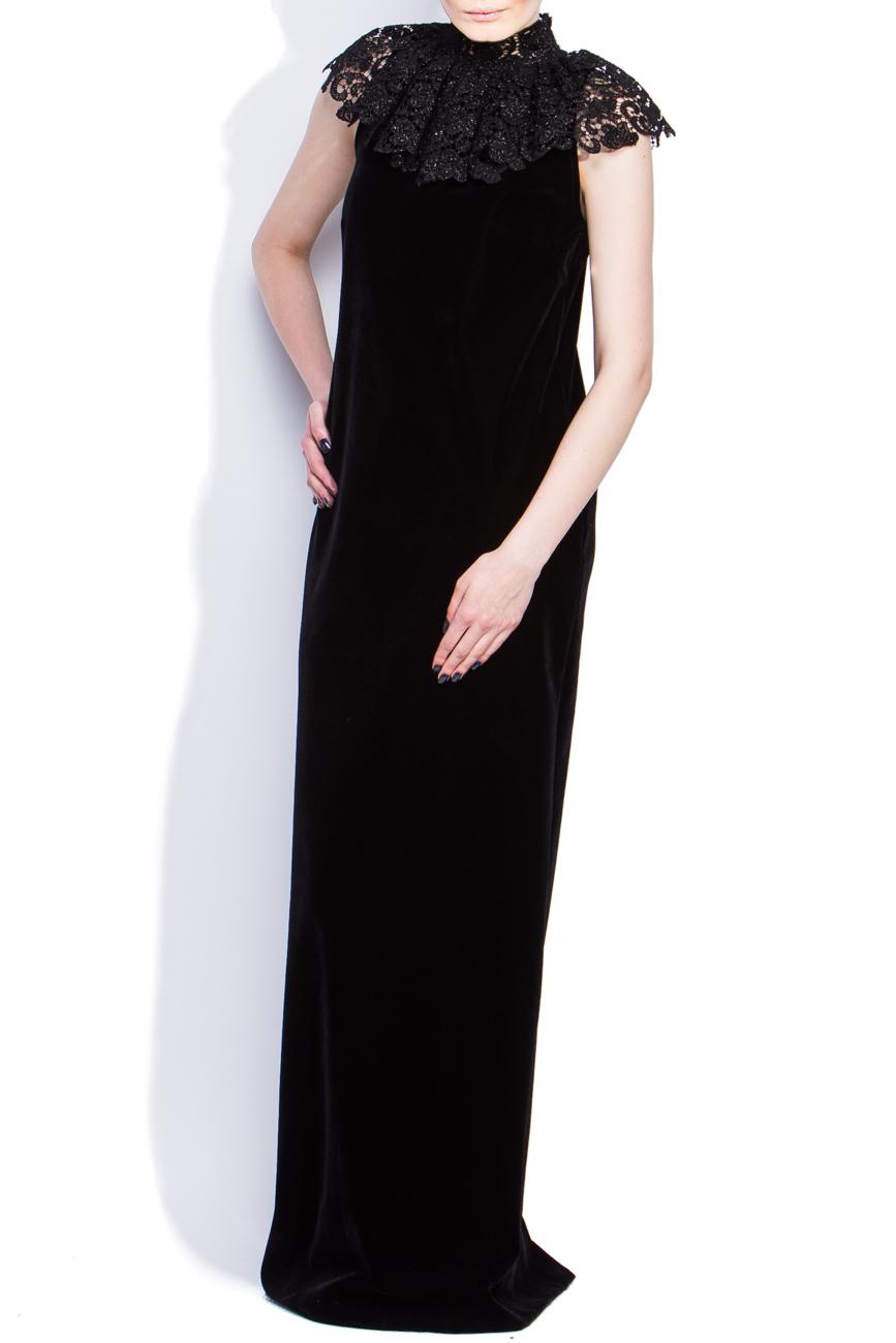Lace collar dress Dorin Negrau image 1