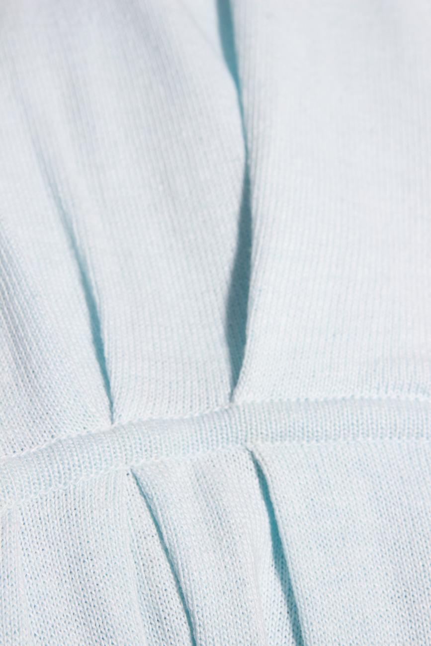 Pulover bleu Dorin Negrau imagine 2