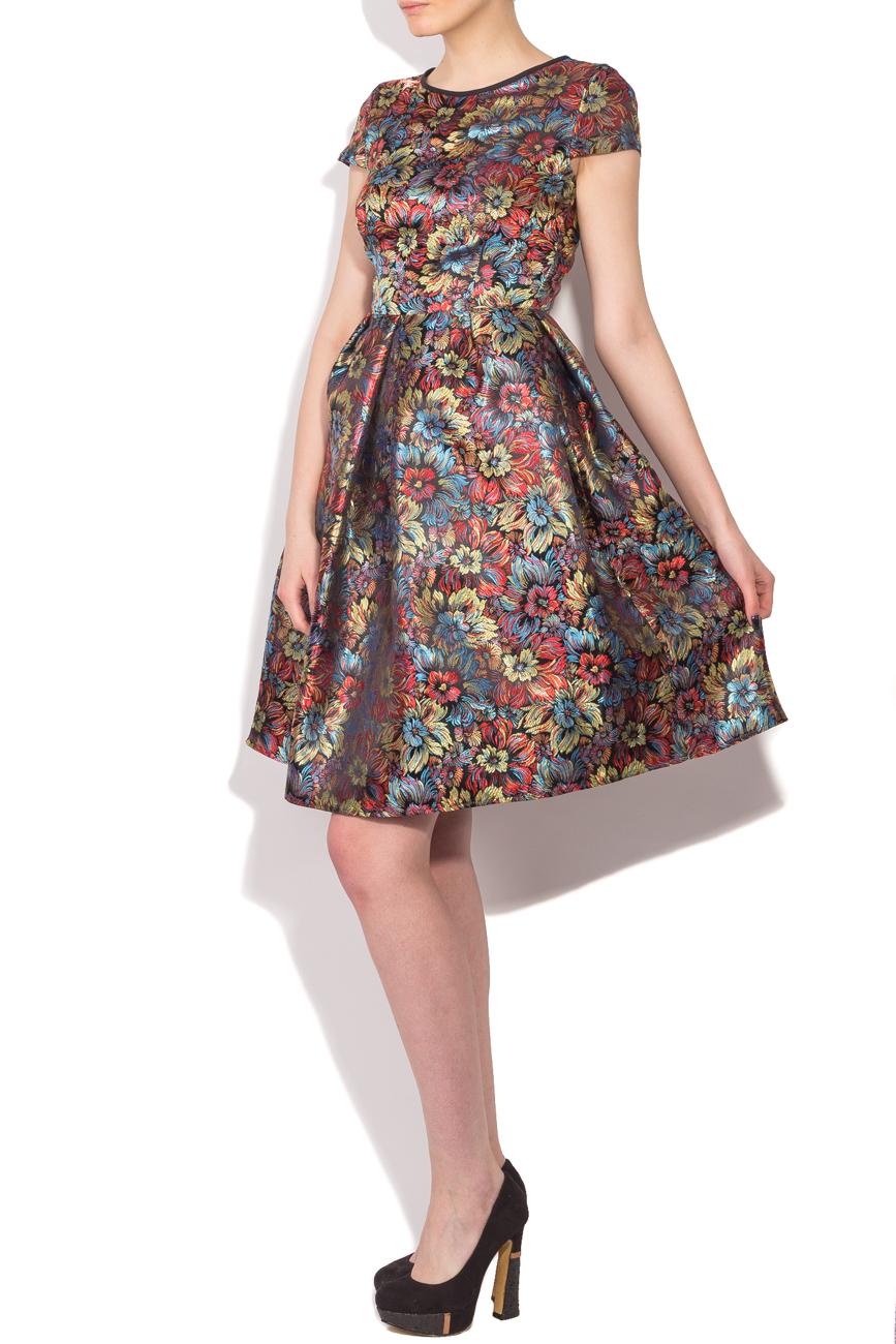 Floral brocade dress Cristina Staicu image 1