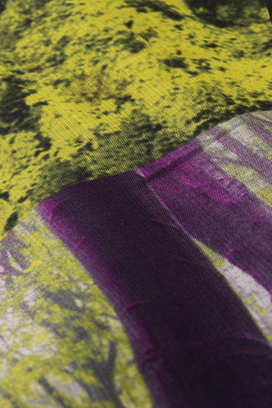 Midi dress with forest print Cristina Staicu image 3