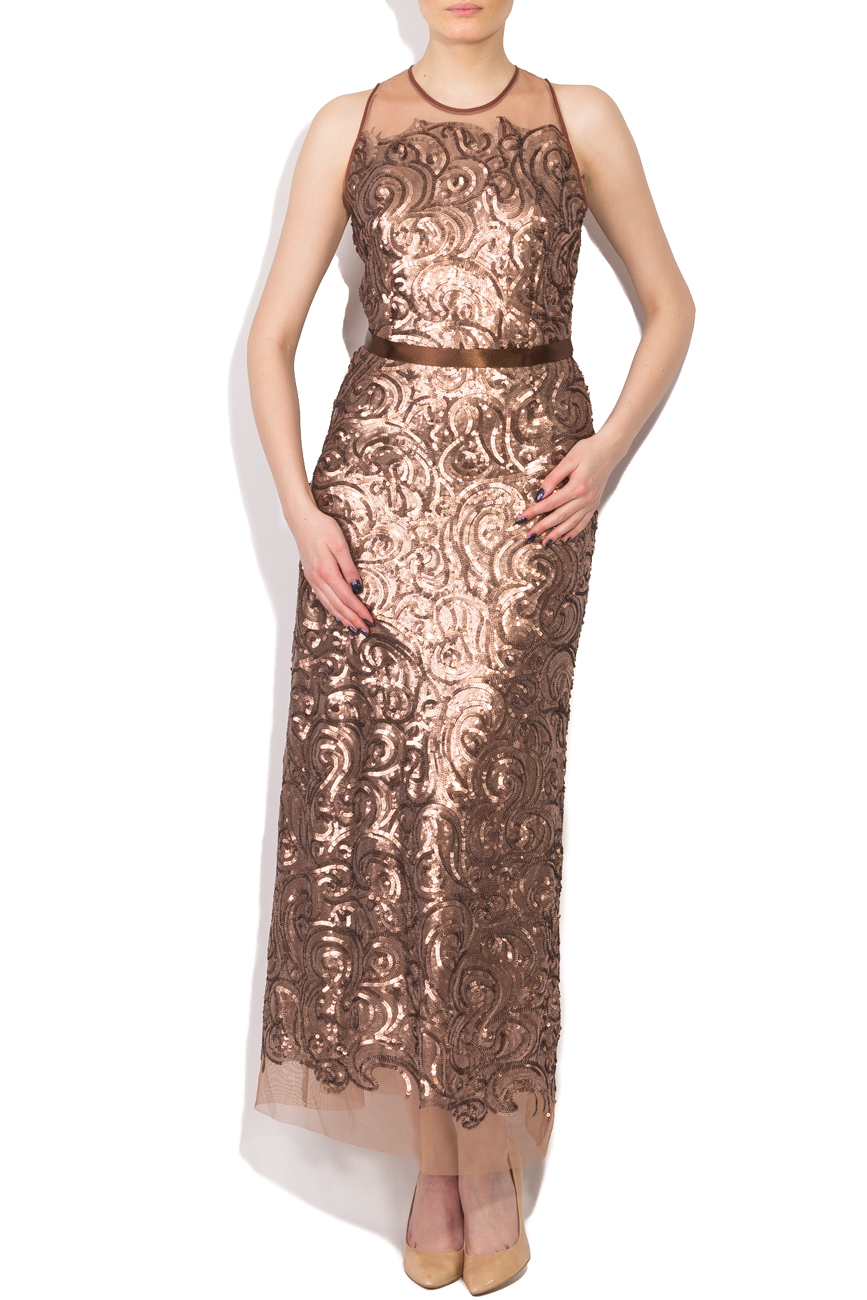 Long dress with sequins Cristina Staicu image 0