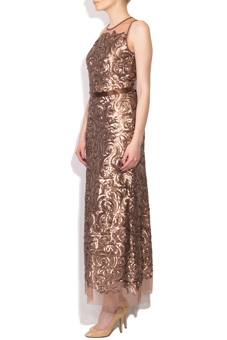 Long dress with sequins Cristina Staicu image 1