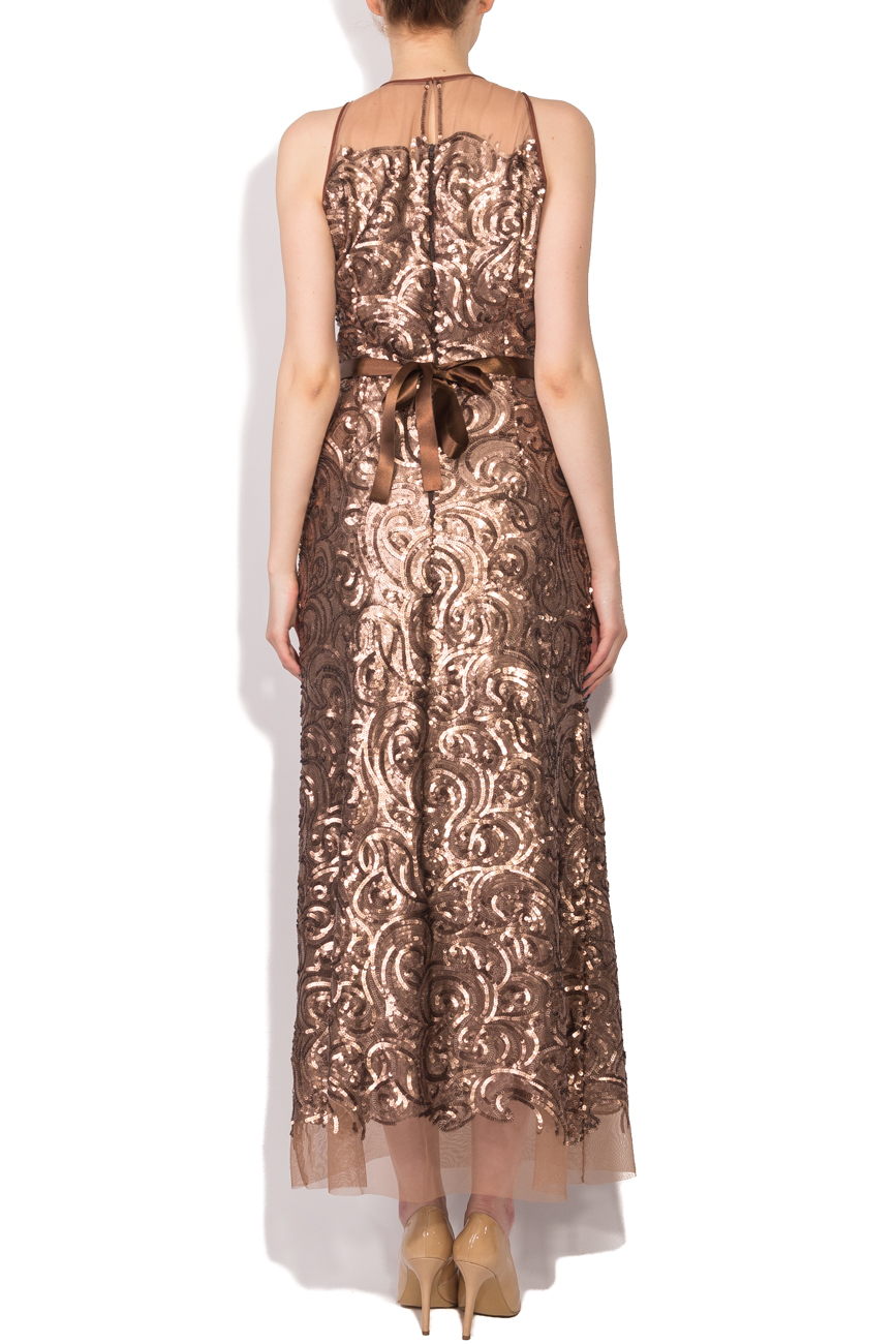 Long dress with sequins Cristina Staicu image 2