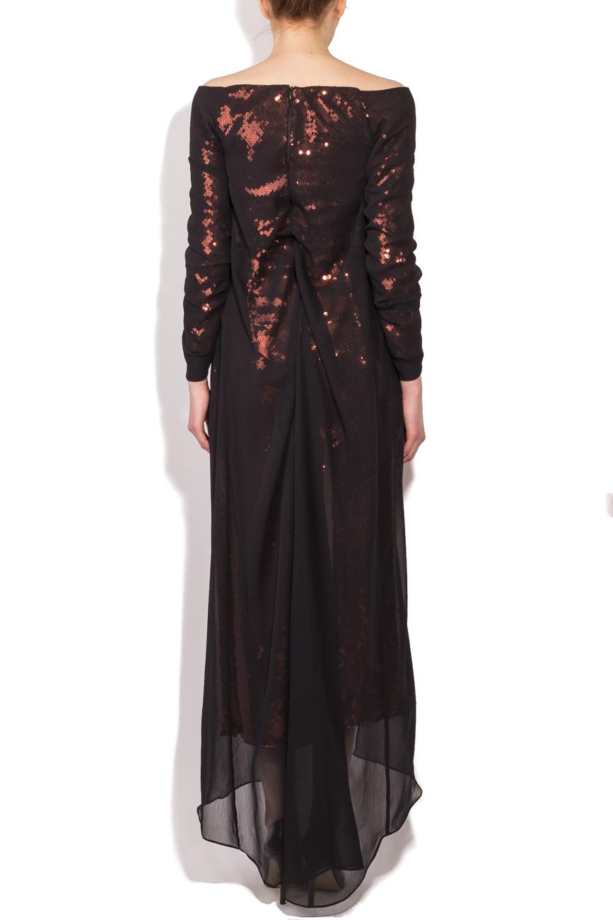 Robe à sequins bronze Dorin Negrau image 2