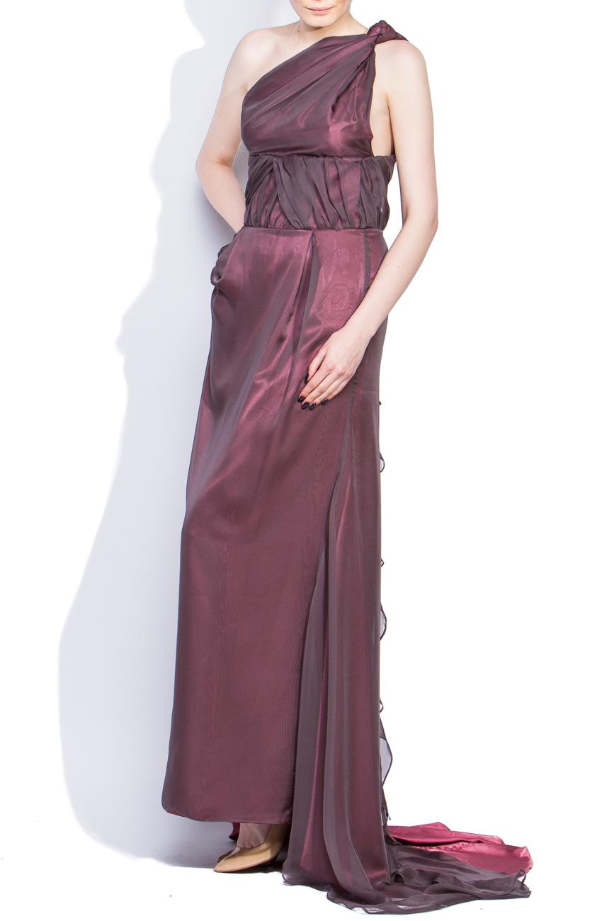Robe longue rose Dorin Negrau image 1