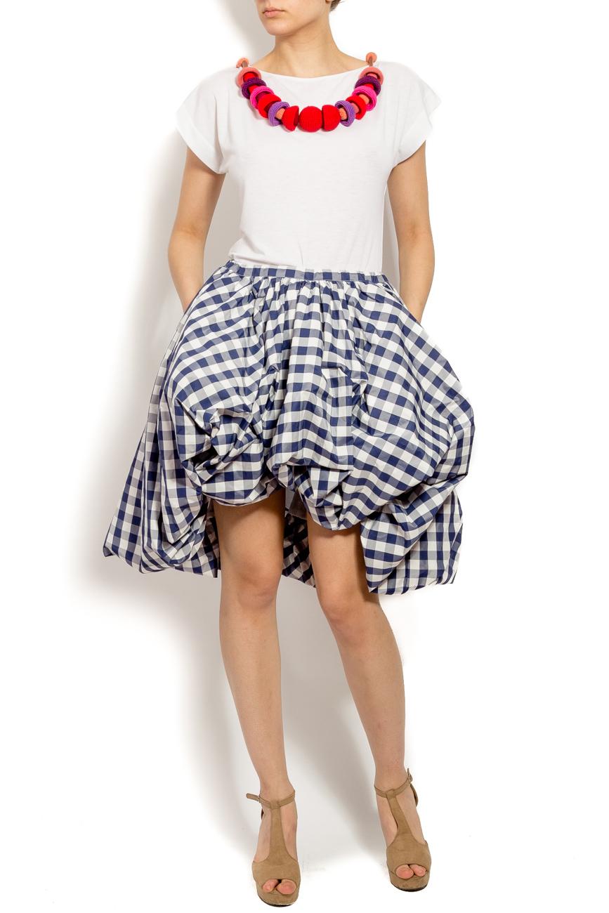Taffeta bubble skirt Edita Lupea image 0